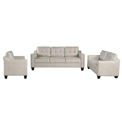 3 Piece Living Room Set(Beige)