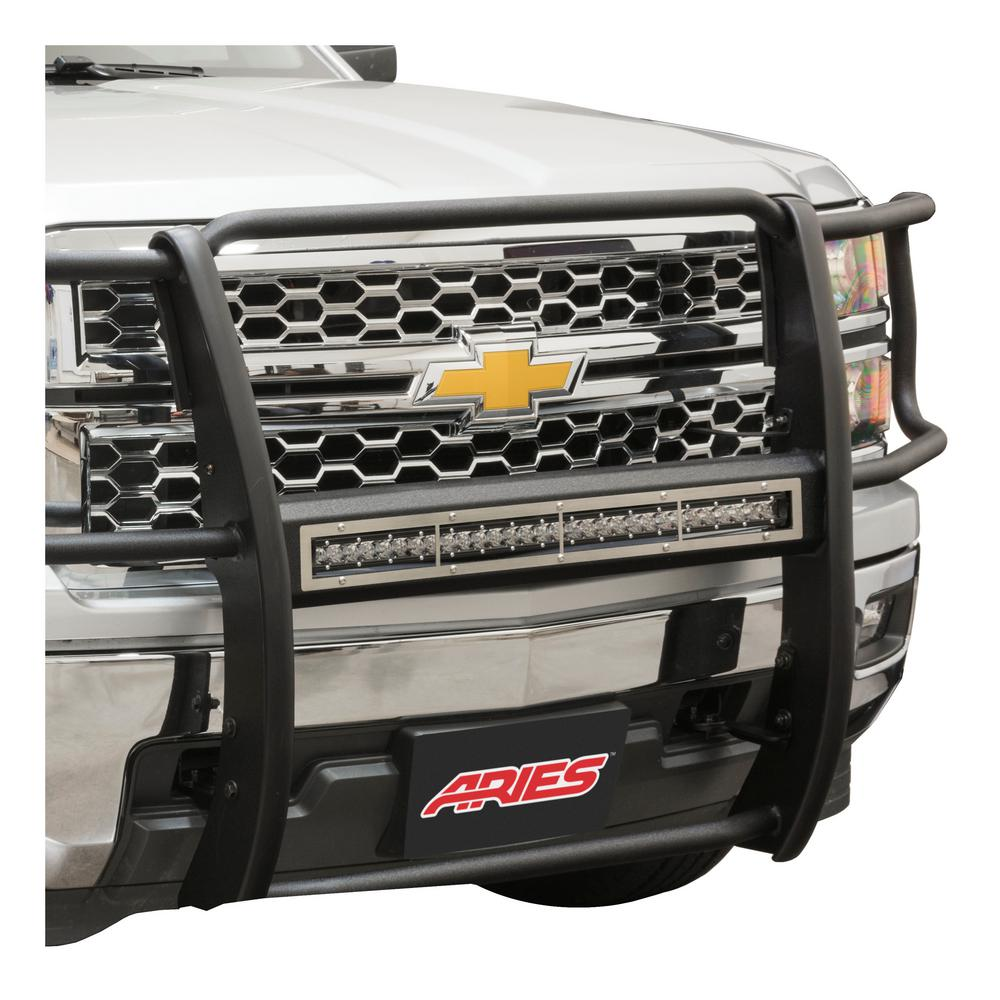 Aries Pro Series 30-Inch Brushed Stainless Light Bar Cover ...