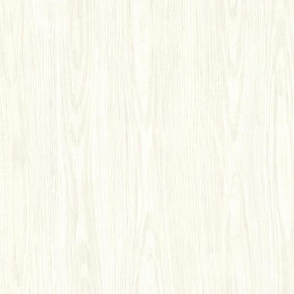Brewster Ivory Tanice Faux Wood Texture Wallpaper Hzn43052