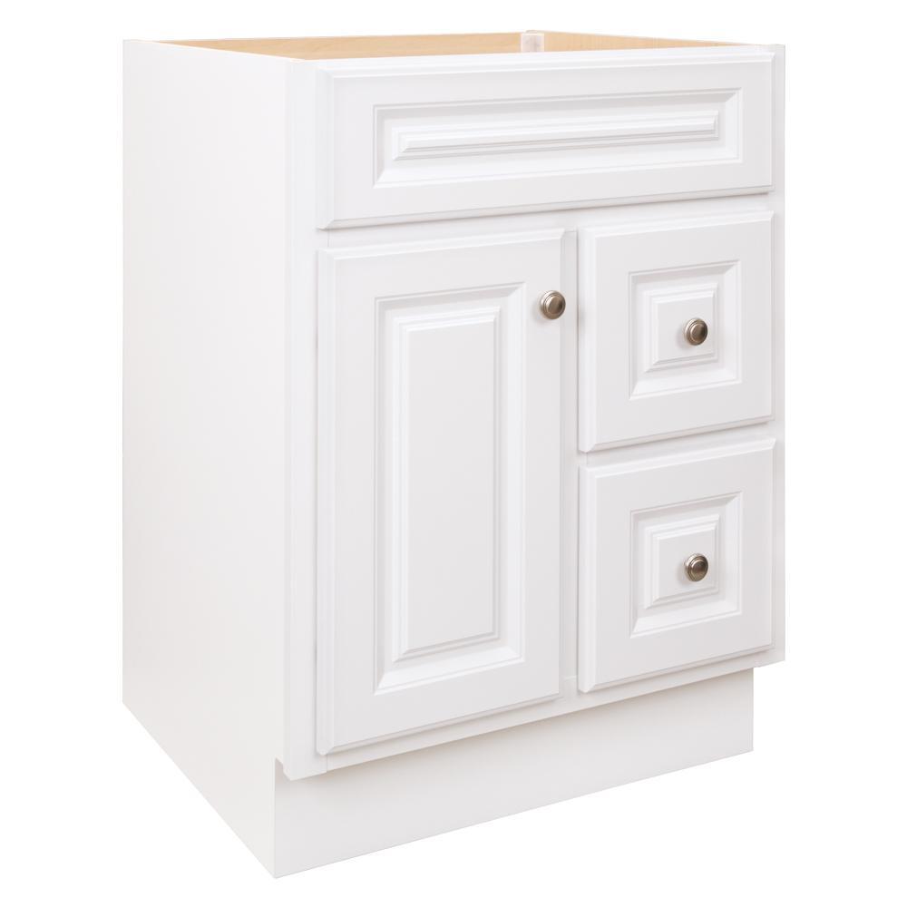 glacier bay hampton 24 in w x 21 in d x 33 5 in h bathroom vanity rh homedepot com 24 inch gray bathroom vanity with drawers 24 inch gray bathroom vanity with drawers