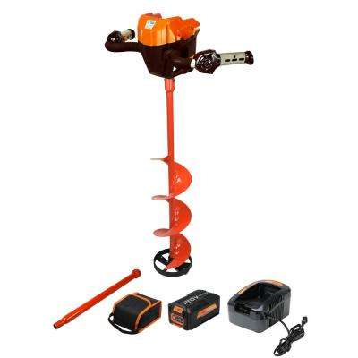 120-Volt Lithium Ion 8 in. Ice Auger Kit