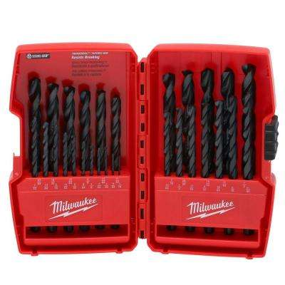 Thunderbolt Black Oxide Drill Bit Set (29-Piece)
