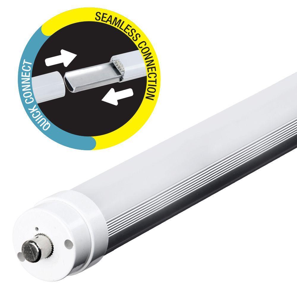 44-Watt 8 ft. T8/T12 Cool White Linear LED Light Bulb