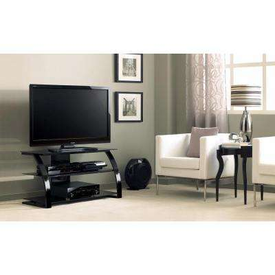 High Gloss Black Entertainment Center