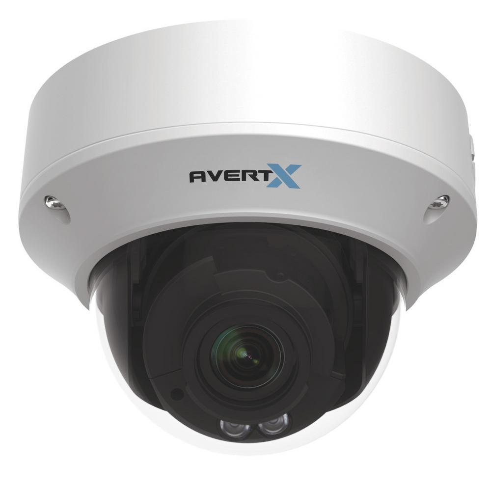 Indoor/Outdoor Autofocus Dome 4MP Security Camera w/ Night Vision