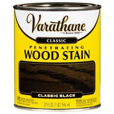 1 qt. Black Classic Wood Interior Stain (2 Pack)