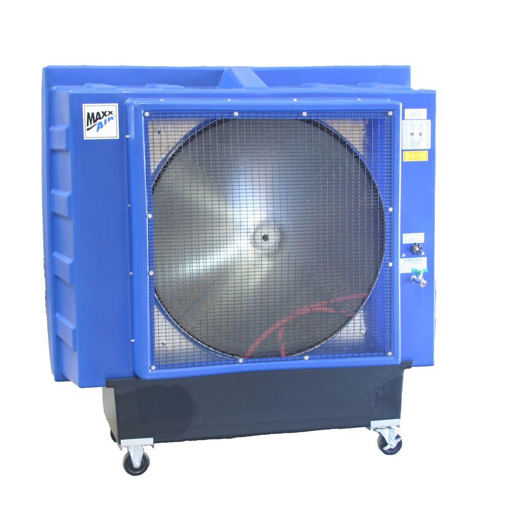 MaxxAir Direct Drive 9700 CFM 1-Speed Evaporative Cooler for 2600 sq. ft.