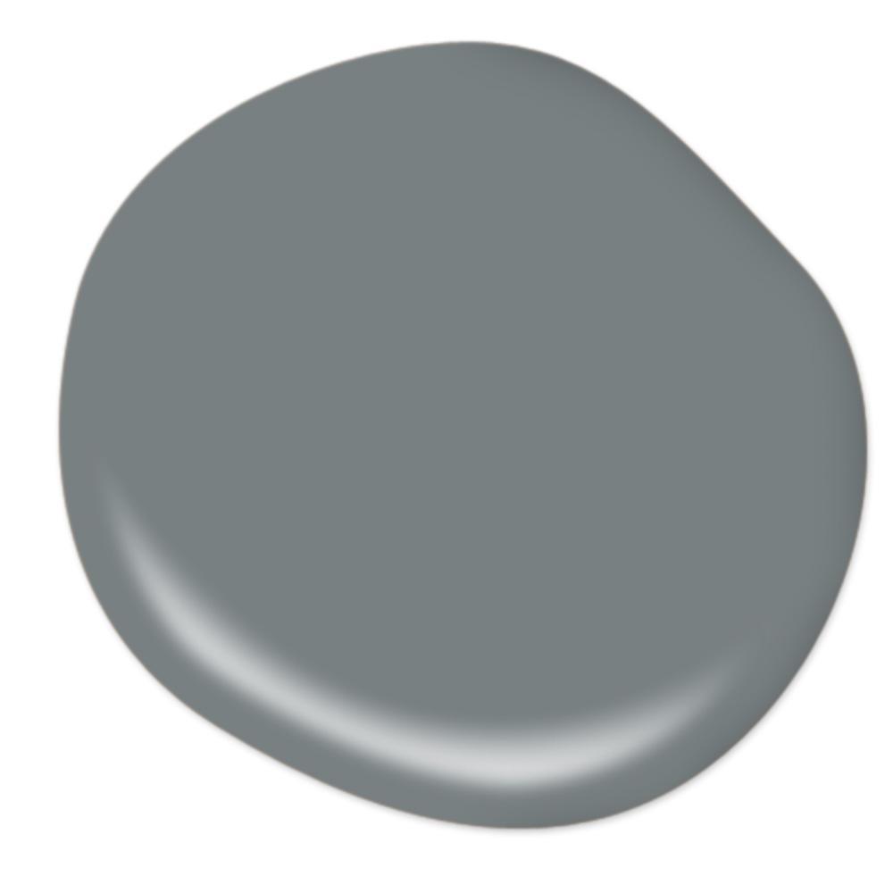 Behr Intergalactic paint color. #greypaintcolors #behrintergalactic #paintcolors