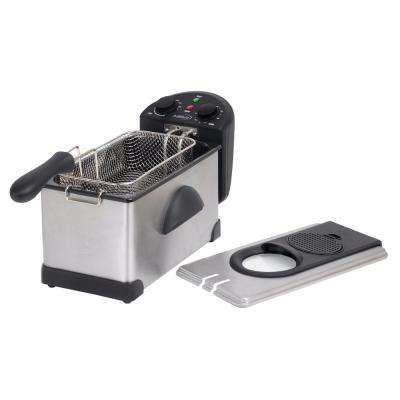 12.5-Cup Stainless Steel Deep Fryer