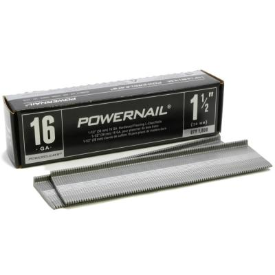 1-1/2 in. x 16-Gauge Powercleats Hardwood Flooring Nails (1000-Pack)