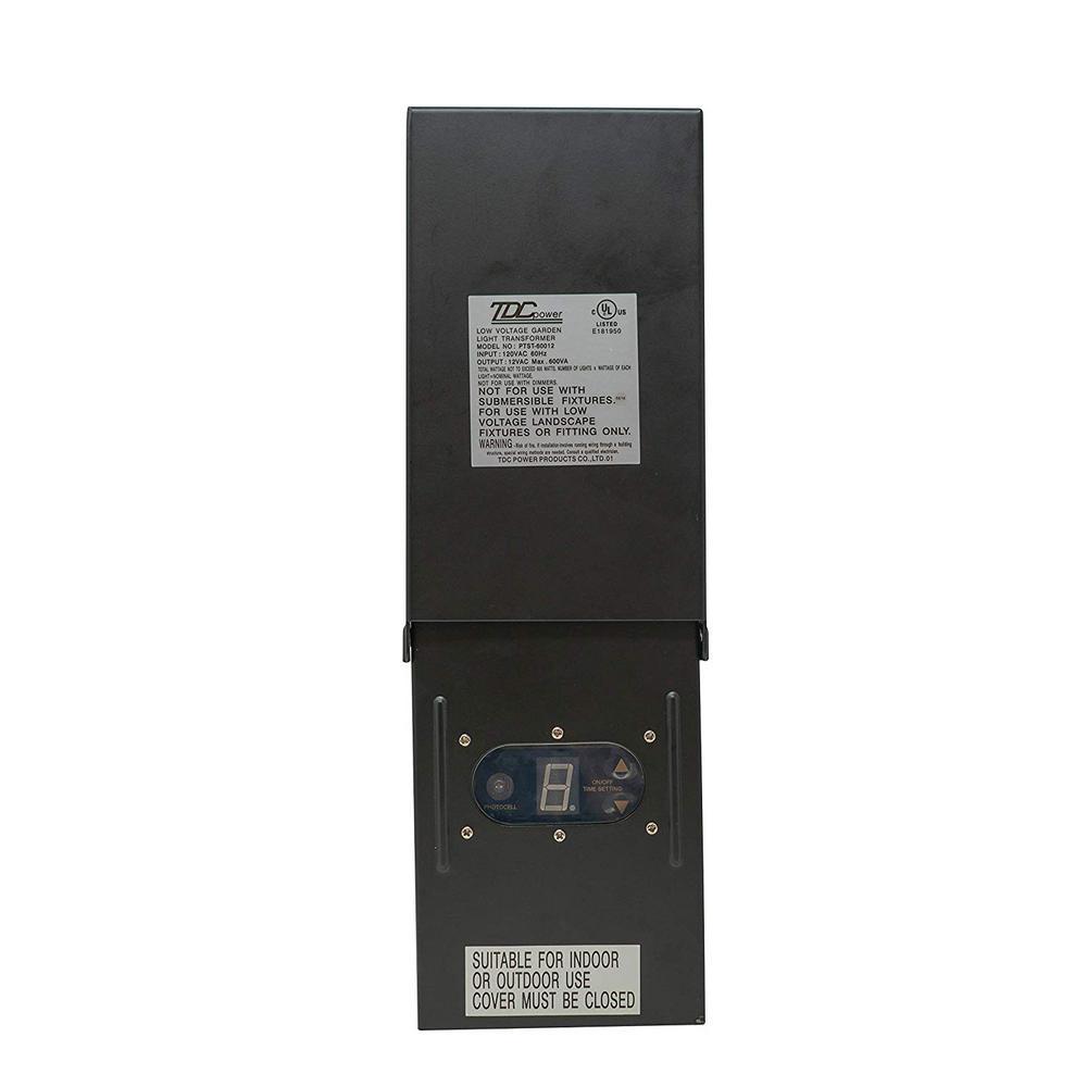 Black Photocell Light Sensor