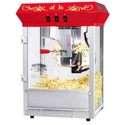 All-Star 8 oz. Red Hot Oil Countertop Popcorn Machine