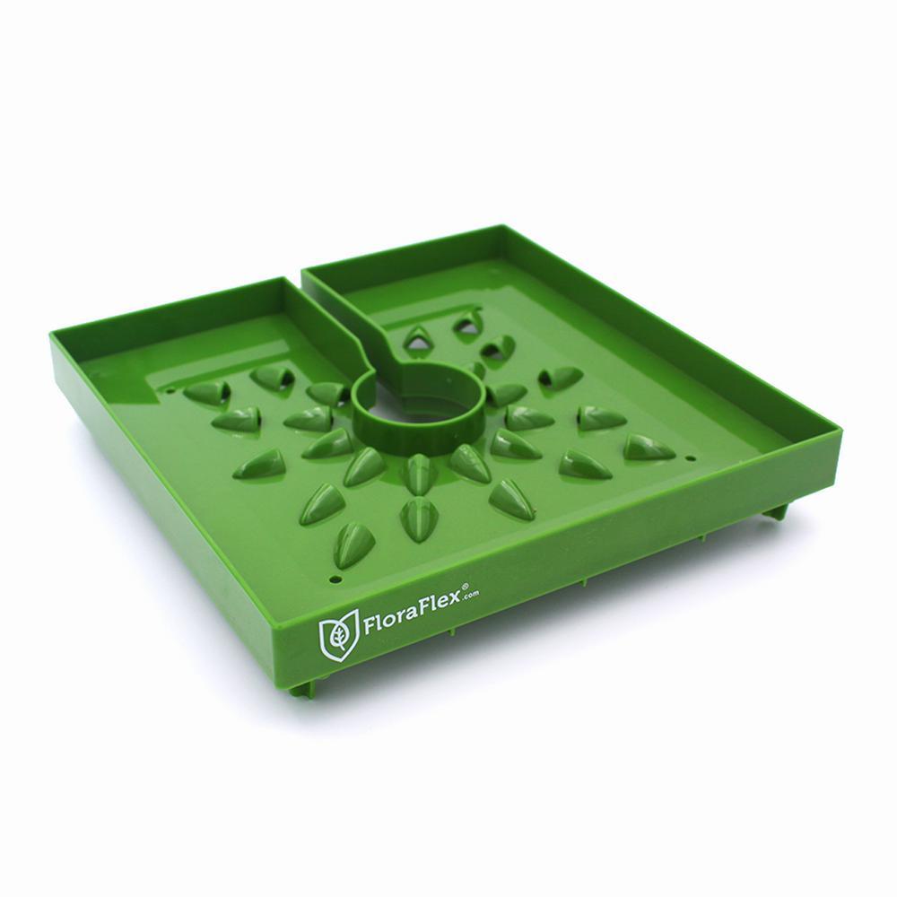 FloraCap 8 in. Green Plastic Block Cover (10-Pack)