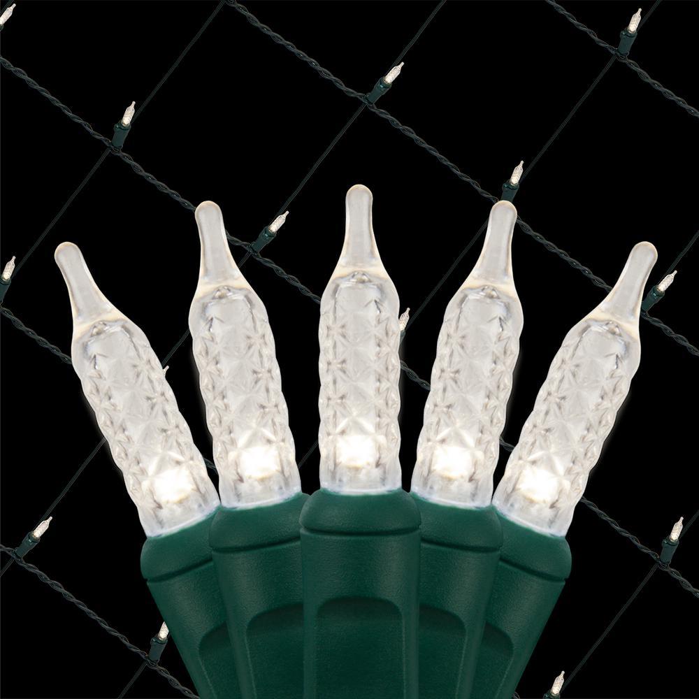 48 in. x 72 in. 100-Light M5 LED Cool White Net Light Set