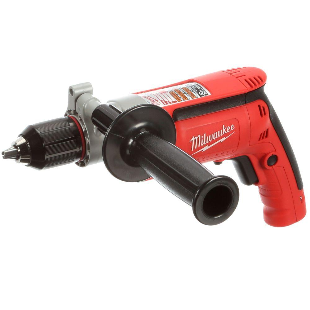 Millwalkie Corded Electric Drills Not Lossing Wiring Diagram Drill 120v Milwaukee 8 0 Amp 1 2 In Magnum 0302 20 The Home Depot Rh Homedepot