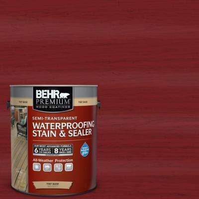 #ST-112 Barn Red Semi-Transparent Weatherproofing Wood Stain