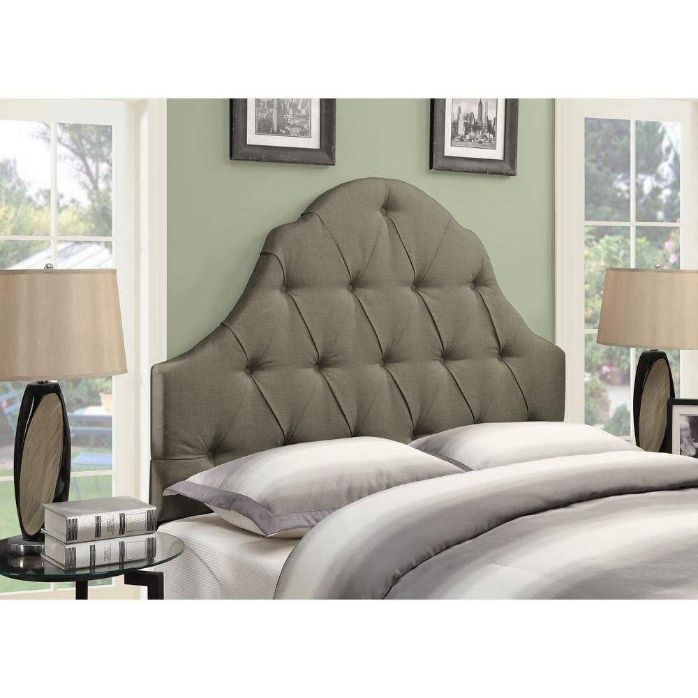 Pulaski Taupe Brown Full Queen Headboard Product Pic