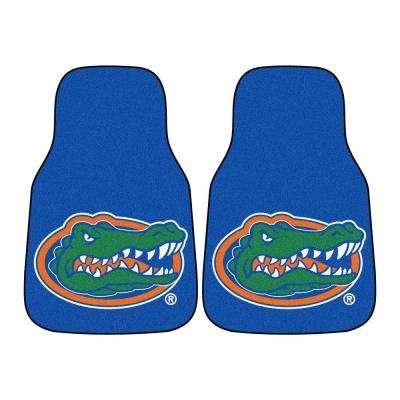 University of Florida 18 in. x 27 in. 2-Piece Carpeted Car Mat Set