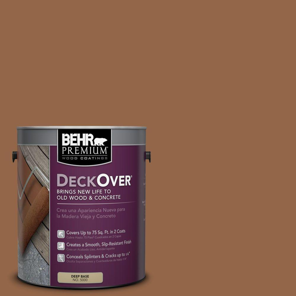 1 gal. #SC-152 Red Cedar Solid Color Exterior Wood and Concrete