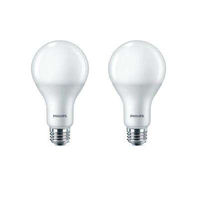 100-Watt Equivalent A21 Dimmable Energy Saving LED Light Bulb Daylight (5000K) (2-Pack)