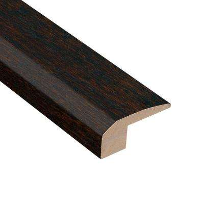 Oak Coffee 3/8 in. Thick x 2-1/8 in. Wide x 78 in. Length Hardwood Carpet Reducer Molding