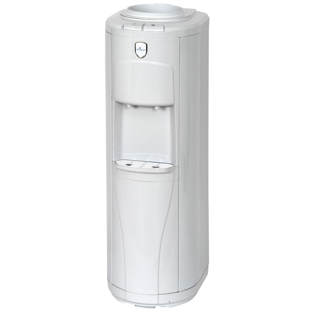 White Water Cooler Dispenser Top Load Floor Standing