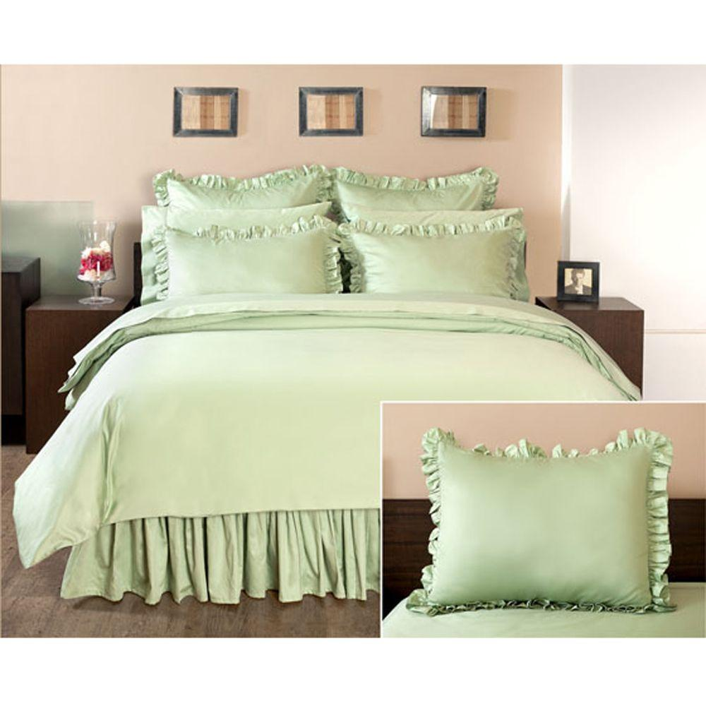 Home Decorators Collection Ruffled Cottage Hill Euro Sham