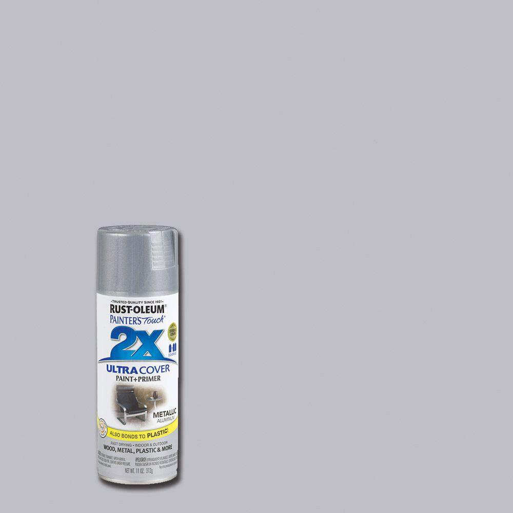 Rust-Oleum Painter's Touch 2X 12 oz. Aluminum General Purpose Spray Paint
