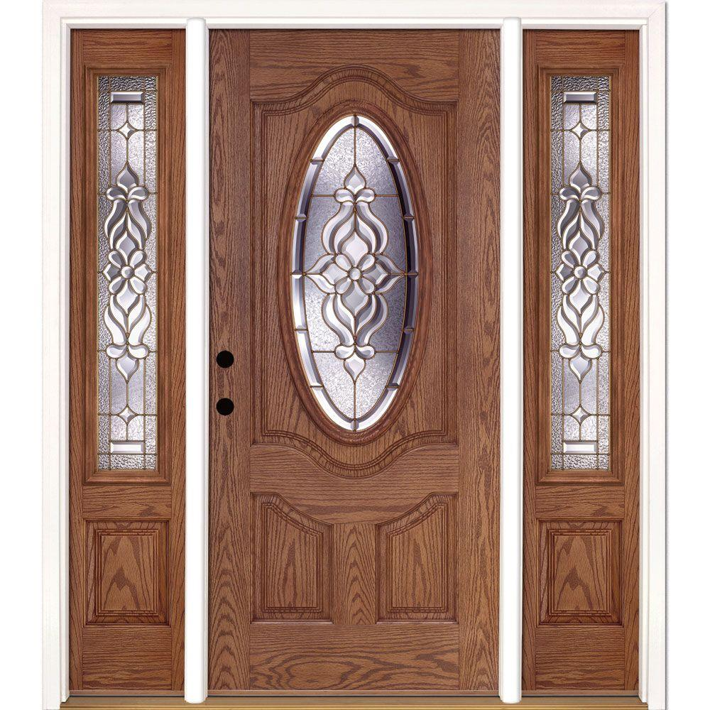 Exterior Doors For Home: Feather River Doors 67.5 In.x81.625 In. Lakewood Brass 3/4