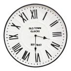 "16"" Metal Enamel Parker Wall Clock"