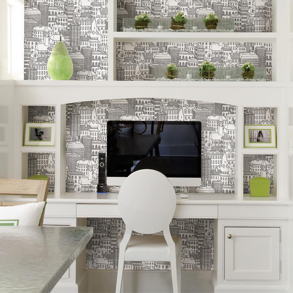 Limelight White City Wallpaper Sample