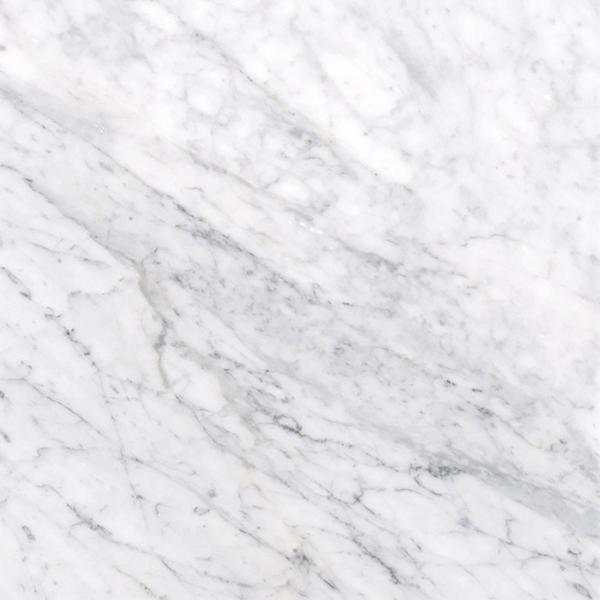 Carrara White 18 in. x 18 in. Honed Marble Floor and Wall Tile (13.5 sq. ft. / case)