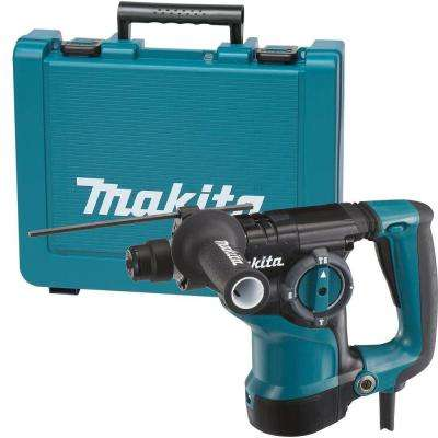 7 Amp 1-1/8 in. Corded SDS-Plus Concrete/Masonry Rotary Hammer Drill with Side Handle and Hard Case