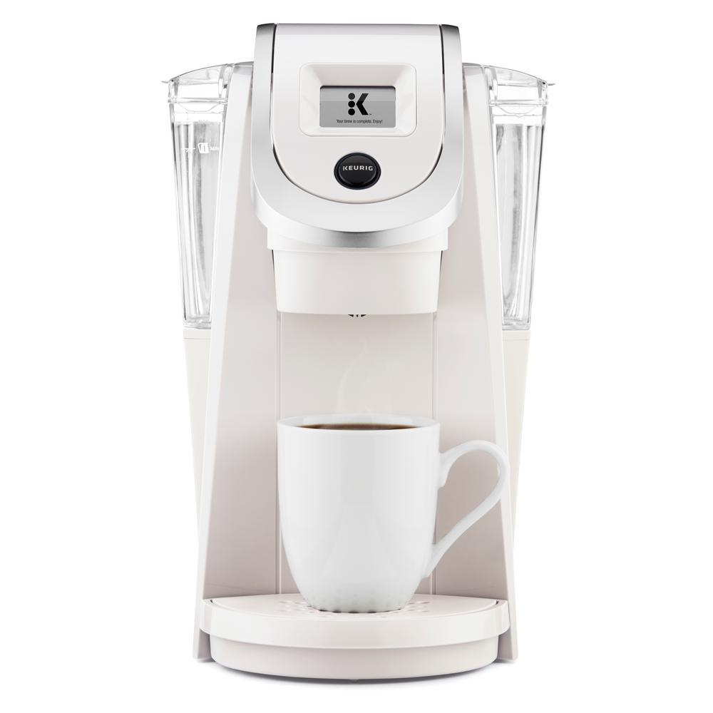 KEURIG K200 Plus Single Serve Coffee Maker, Sandy Pearl