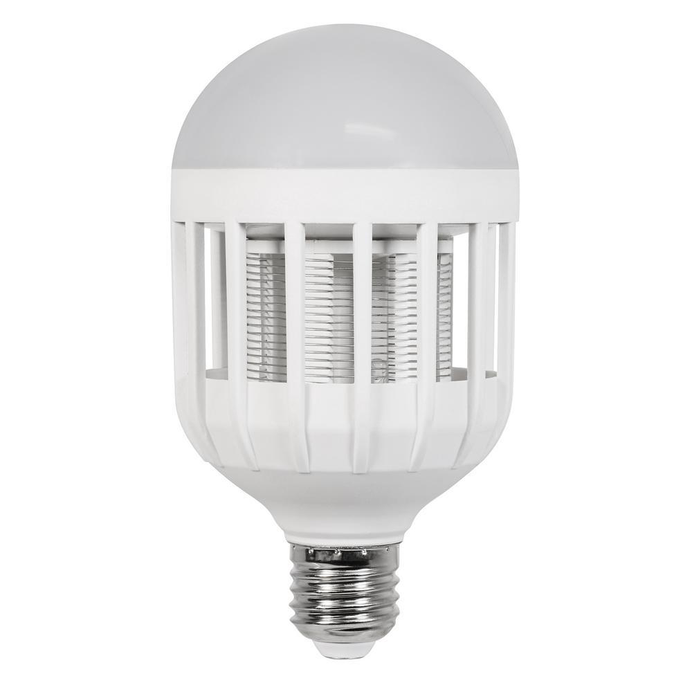 60-Watt Equivalent A19 3-Way LED Bug Zapper Light Bulb