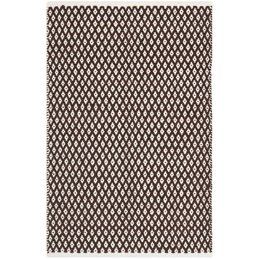 Boston Brown 2 ft. 6 in. x 4 ft. Area Rug