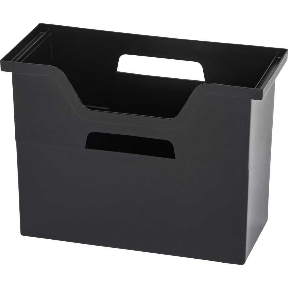 Merveilleux IRIS Medium Desktop File Box In Black (6 Per Pack)