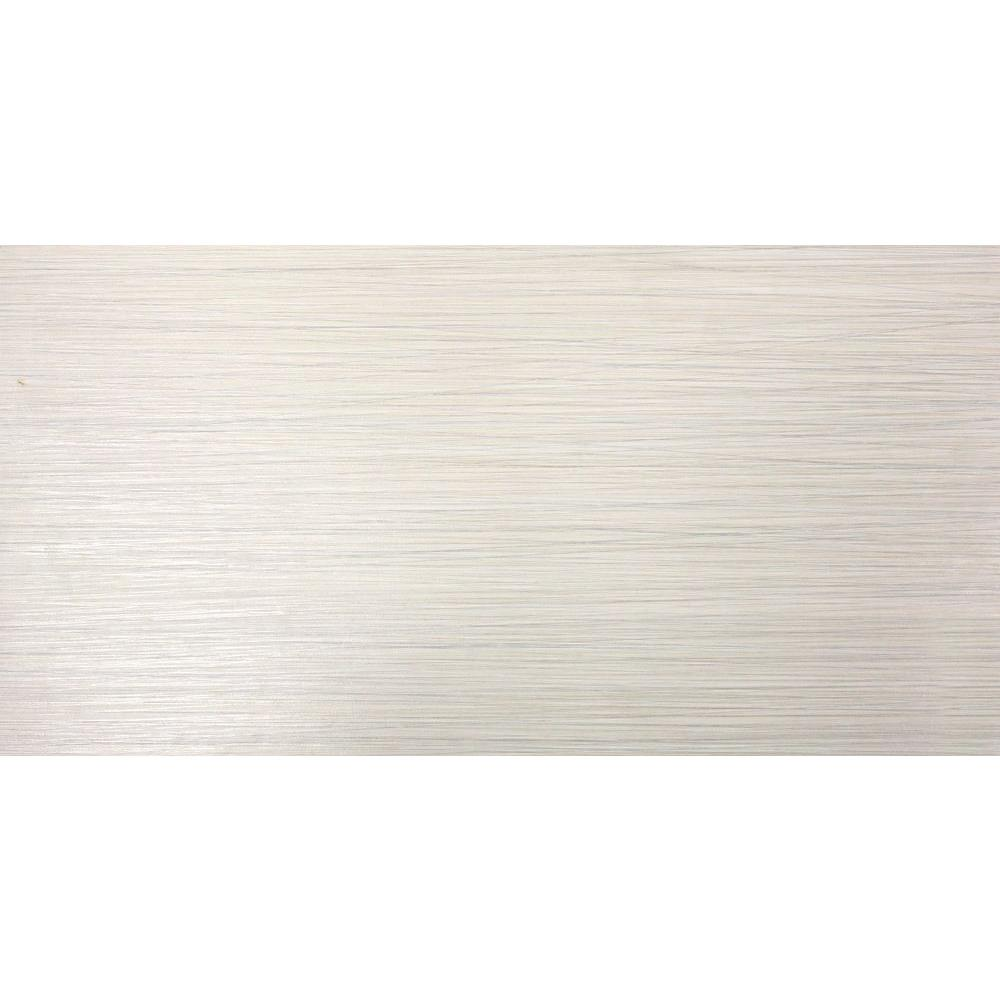 MS International Metro Glacier 12 in. x 24 in. Glazed Porcelain ...