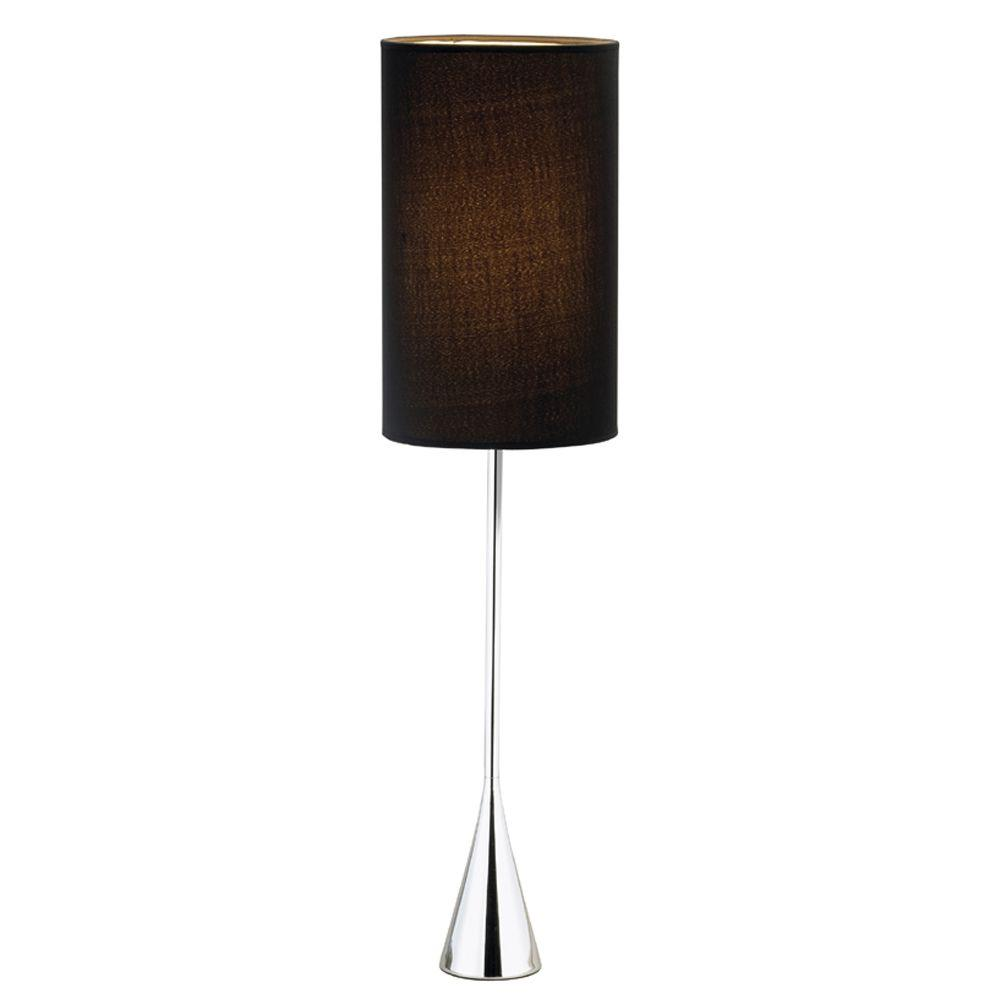 Adesso Bella 36-1/2 in. Chrome Table Lamp
