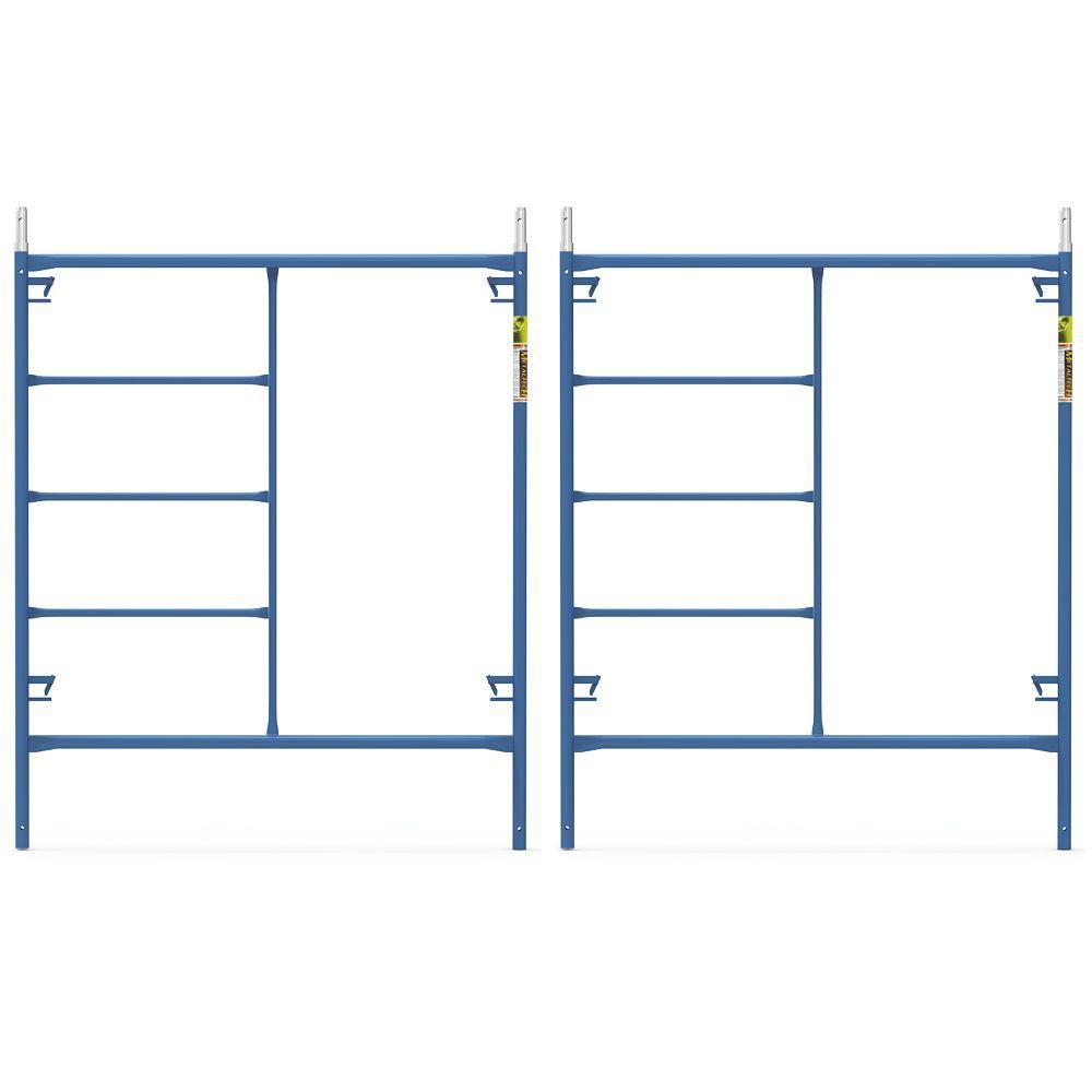 Saferstack 6 ft. x 5 ft. Mason Scaffold Frame (2-Pack)