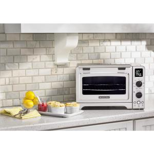 +4. KitchenAid Stainless Steel Toaster Oven