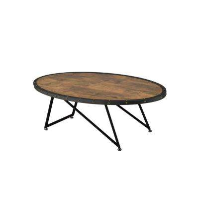 Allis Weathered Dark Oak Water Resistant Coffee Table