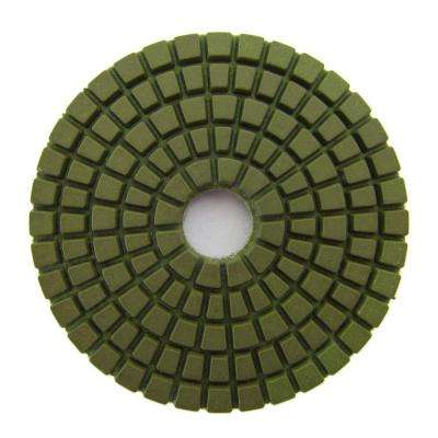 3 in. #800 Grit Wet Diamond Polishing Pad for Stone