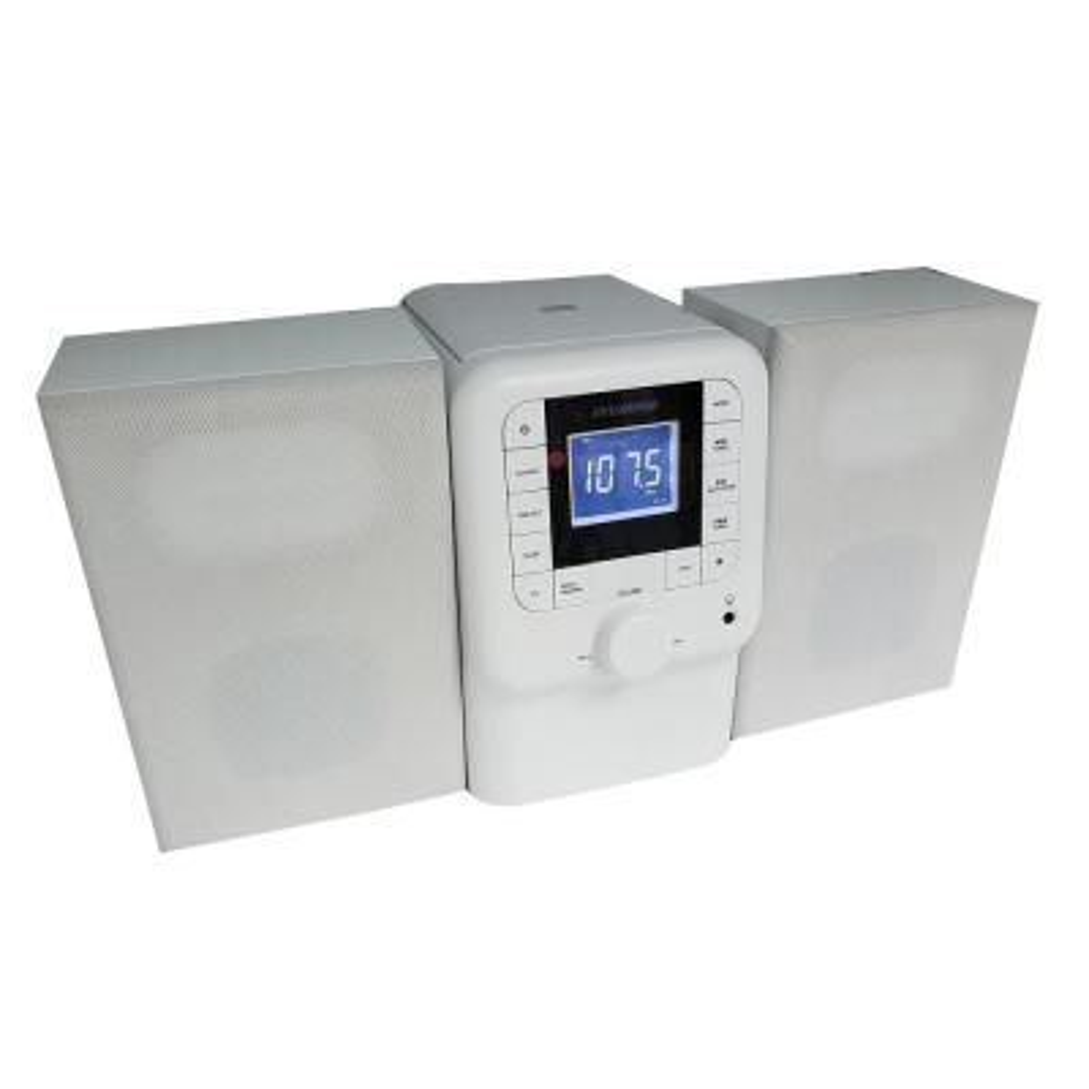 Naxa Electronics CD Home Audio Microsystem with Bluetooth Black ...