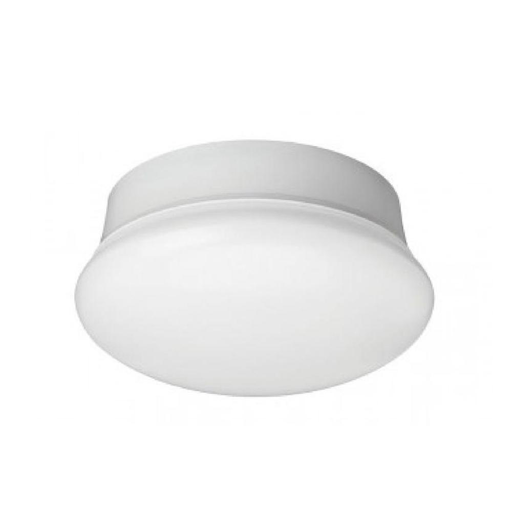 Commercial Electric 7 in. Daylight White LED Flushmount Ceiling ... for Lamp Holder Flush Type  584dqh