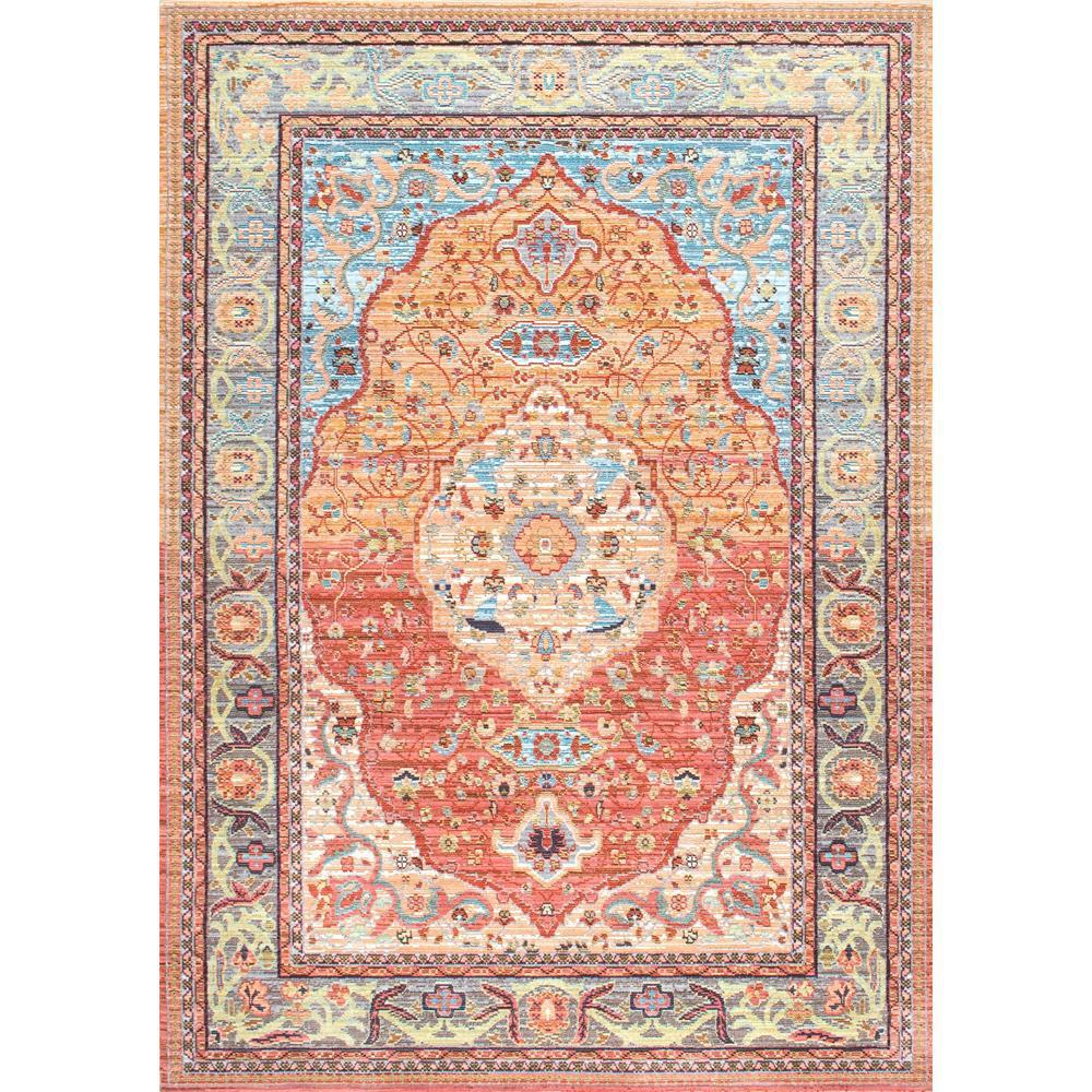 Amazing NuLOOM Vintage Barnhart Orange 9 Ft. X 12 Ft. Area Rug