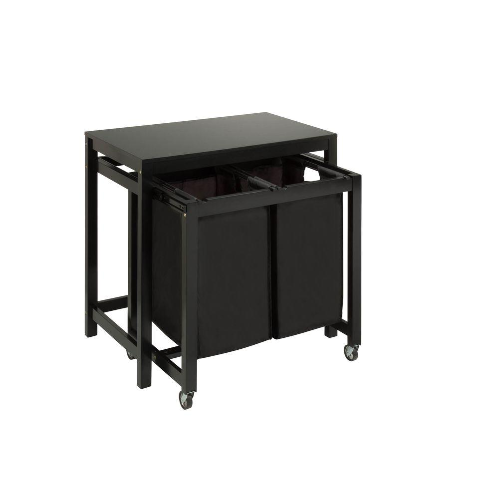 - Honey-Can-Do Double Sorter With Folding Table-SRT-03571 - The Home