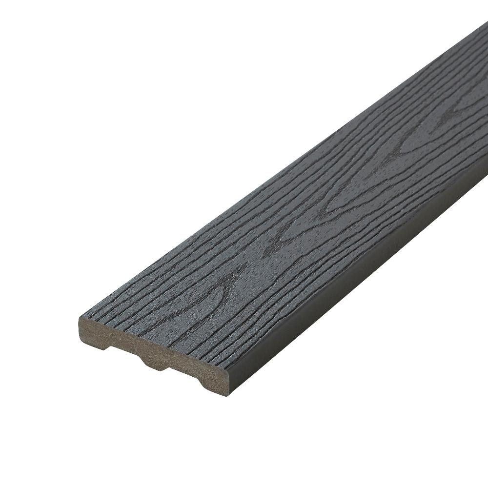 Veranda armorguard 1 in x 5 1 4 in x 20 ft brazilian for Composite decking boards