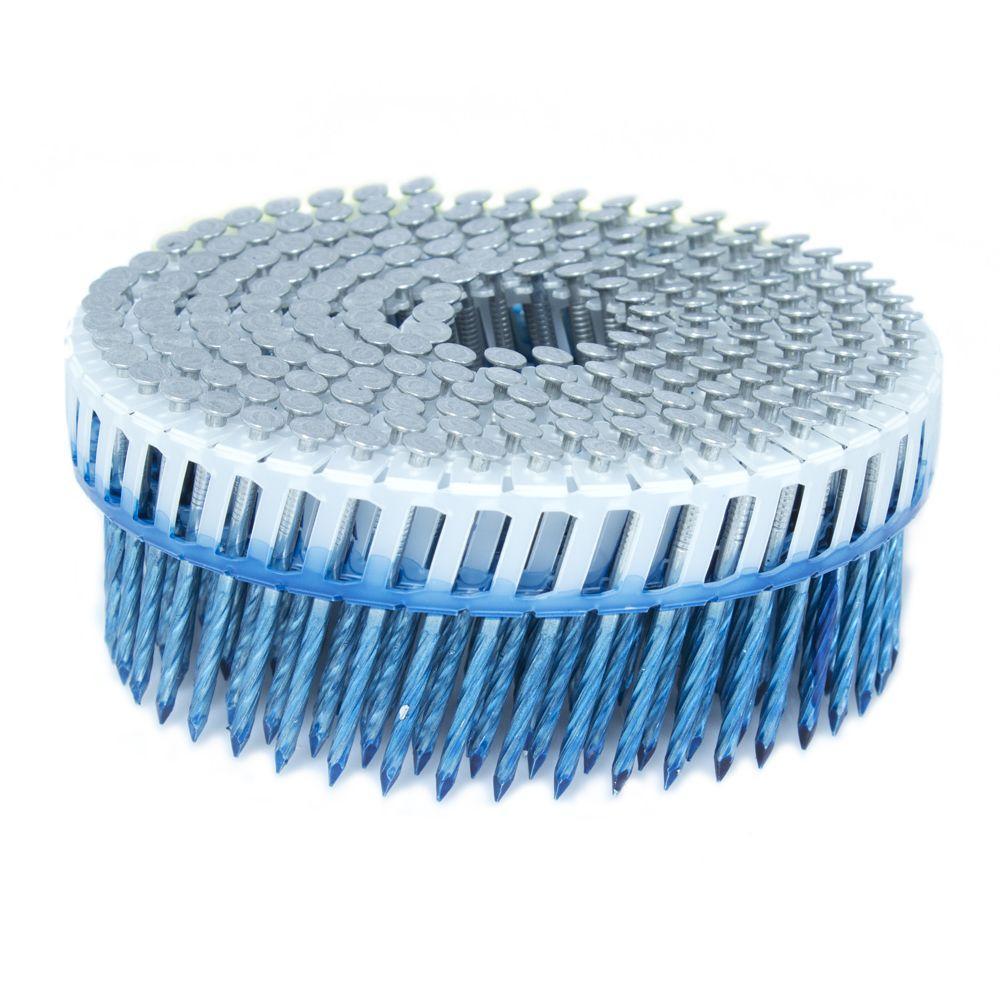 1.875 in. x 0.092 in. 15-Degree Screw Aluminum Plastic Sheet Coil Siding Nail 800 per Box