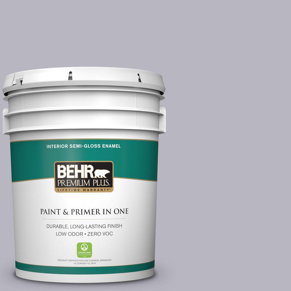 BEHR Premium Plus 5-gal. #N550-3 Best in Show Semi-Gloss Enamel Interior Paint